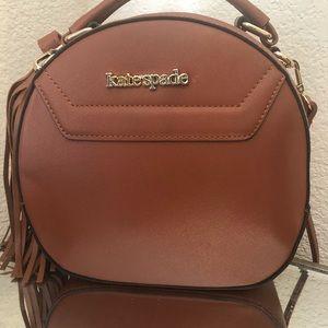 Kate spade crossbody brown purse